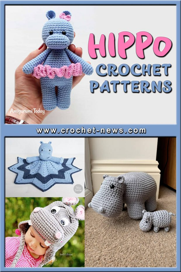 CROCHET HIPPO PATTERNS