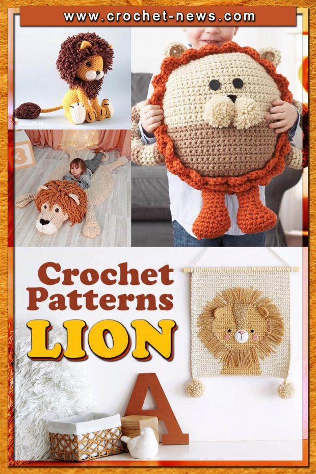 CROCHET LION PATTERNS
