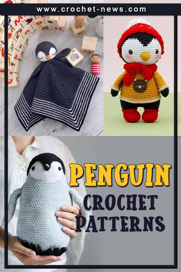 CROCHET PENGUIN PATTERNS