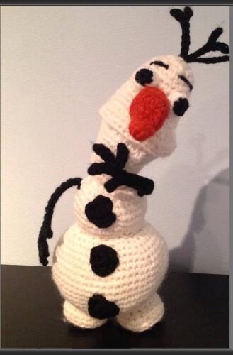 Crochet Olaf Amigurumi Pattern by ANAPADIY