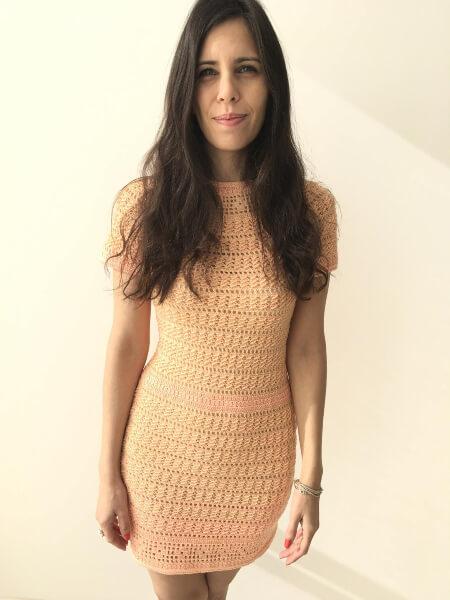 Crochet Summer Dress Pattern by YarnWithCoffee