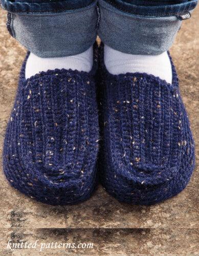 Free Mens Crochet Slippers Pattern