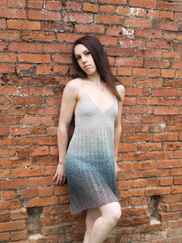 Maya Bohemian Crochet Summer Dress Pattern by GraceFallsCrochet