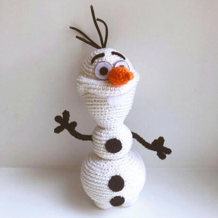 Olaf By Frozen by Amigurushki
