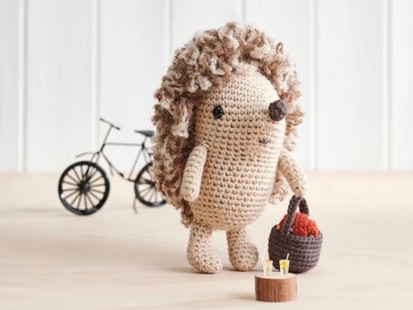 Amigurumi Hedgehog Crochet Pattern by Irene Strange