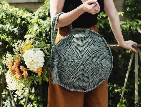 Capri Circle Bag Crochet Pattern by Two Of Wands