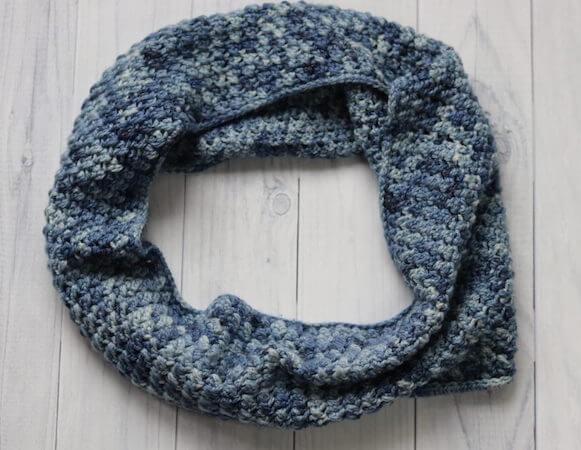 Clear Water Cowl Crochet Pattern by Rich Textures Crochet