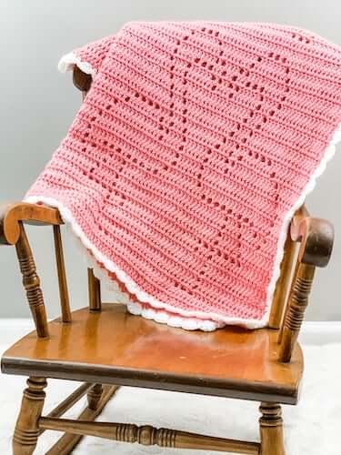 Crochet Flamingo Baby Blanket Pattern by Owl B Hooked
