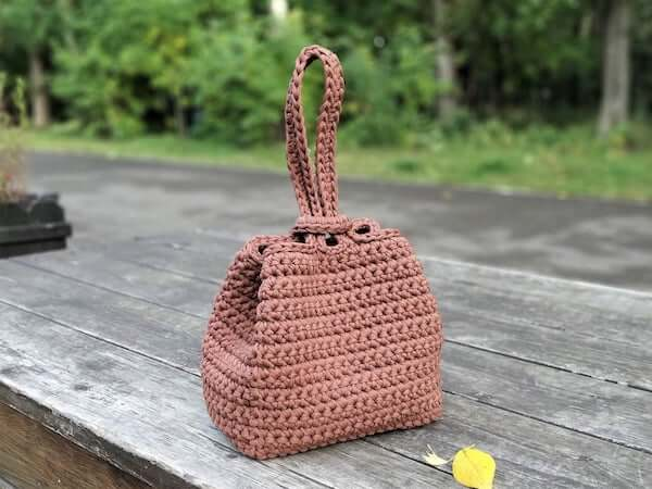 Crochet Handbag Purse Pattern by Kseniya Design
