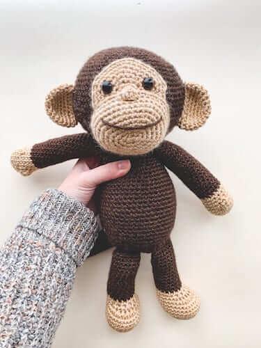 Crochet Happy Monkey Pattern by Sewrella