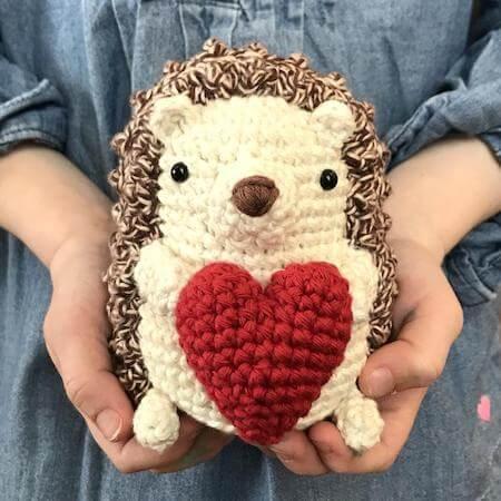 Crochet Hedgehog Pattern by Crochet To Play