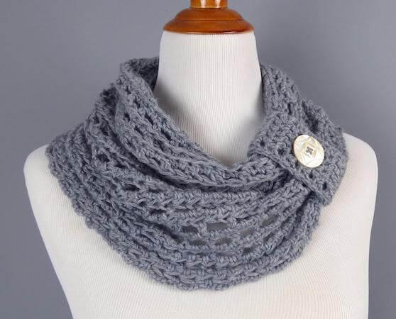 Crochet Whisper Cowl Pattern by Speckless