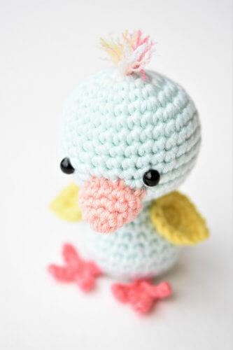 Little Friendly Duck Crochet Pattern by Lilleliis