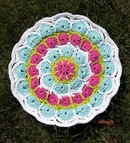 Magic Spike Mandala Free Crochet Pattern by Moogly