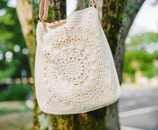 Marigold Cross Body Bag Crochet Pattern by 1 Dog Woof