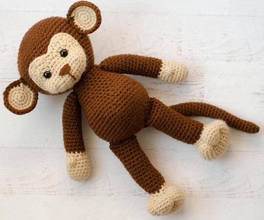 Michael, The Monkey Crochet Pattern by Crochet 365 Knit Too
