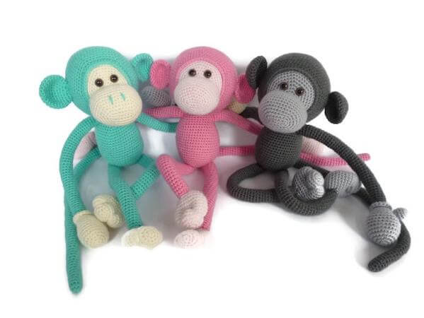Mike, The Monkey Amigurumi Pattern by Sugaridoo