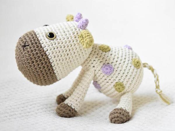 Spotty, The Cow Crochet Pattern by Lilleliis