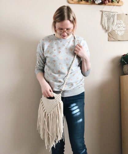 Sundance Crossbody Bag Crochet Pattern by Hello Wildflower Co