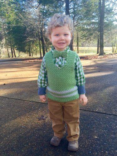 Sweet Pea Woven Vest Crochet Pattern by Angela Plunkett