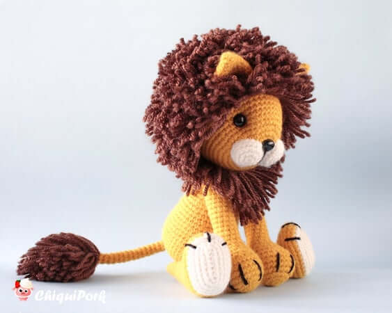 Tyrion, The Lion Amigurumi Pattern by Chiqui Pork