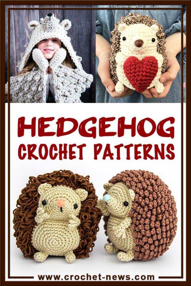 HEDGEHOG CROCHET PATTERNS