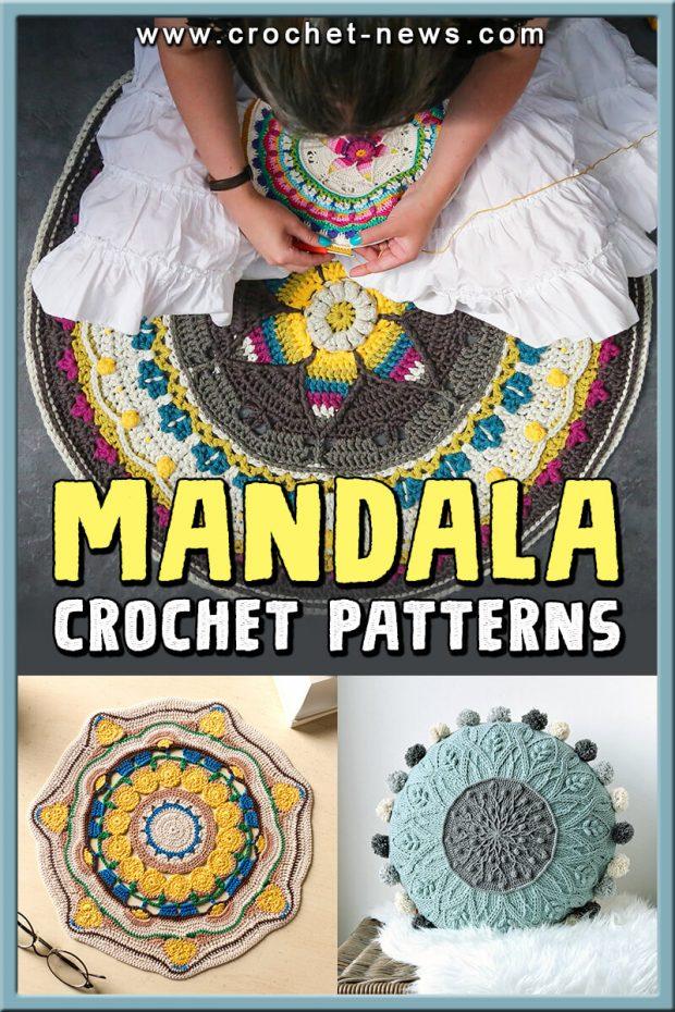 MANDALA CROCHET PATTERNS