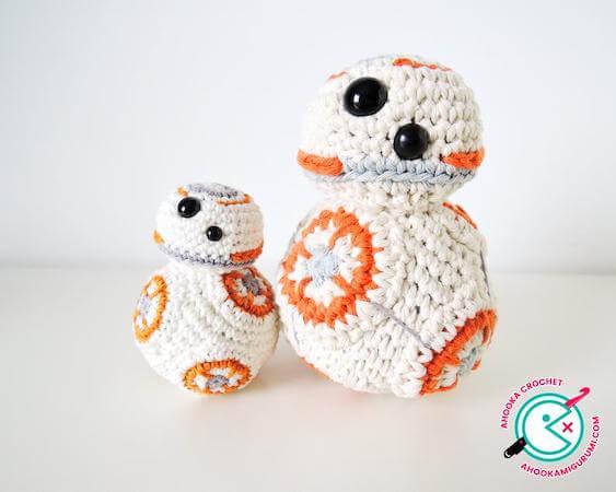 BB-8 Star Wars Robot Crochet Pattern by Ahooka