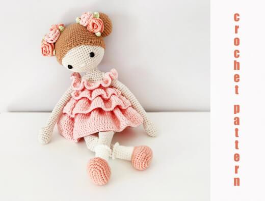 Crochet Amigurumi Doll Pattern By Workroom Julia Litvin