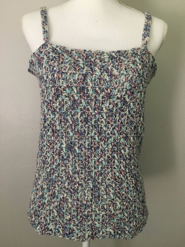 Vee Cami Crochet Camisole Pattern by JosCraftyHook