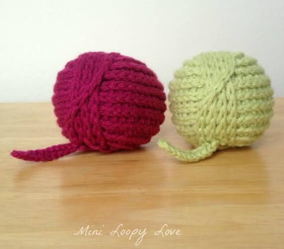 Yarn Ball Stress Reliever Crochet Pattern by BlackstoneDesigns