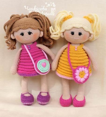 Amigurumi Doll Crochet Toy Pattern by My Cro Wonders
