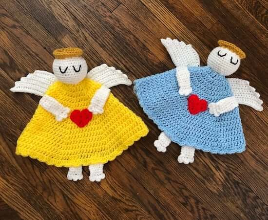Angel Baby Lovey Crochet Pattern by DAC Crochet
