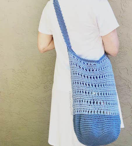Annie's Crochet Shoulder Bag Free Pattern by Christa Co Design