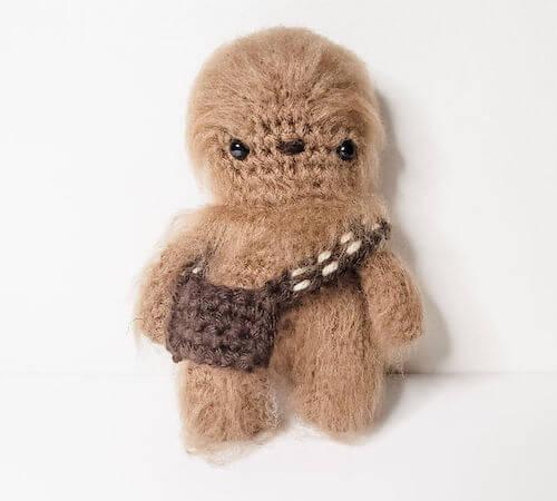 Chewbacca Amigurumi Free Crochet Pattern by Heather Corinne
