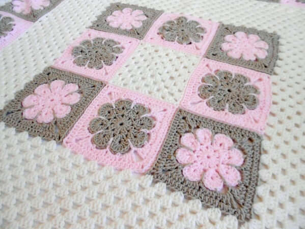 Easton Baby Blanket Crochet Pattern by Peachtree Cottage