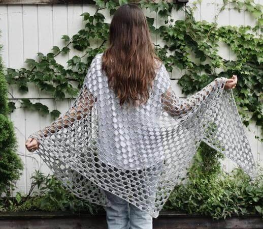Eastwick Wrap crochet Pattern by Two Of Wands Shop