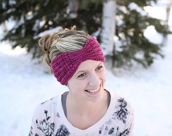 Everly Head Wrap Crochet Pattern by Mamachee