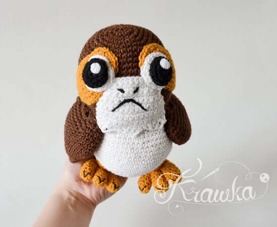 Galactic Penguin Crochet Pattern by Krawka