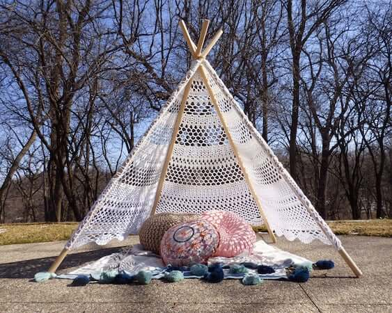 Lace Tent Crochet Pattern by Speckless