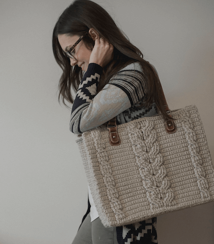 Matilda Tote Free Crochet Pattern by Megmade With Love