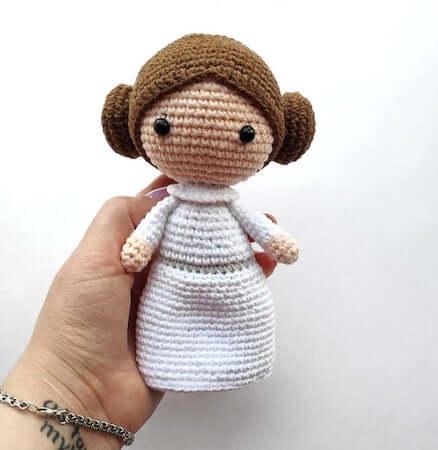 Princess Leia Crochet Pattern by Tanya Smile