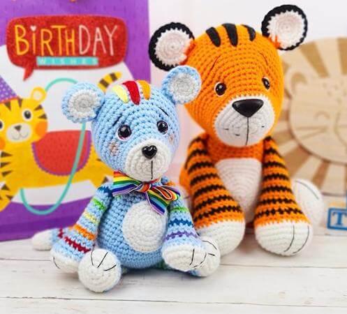 Tiger Crochet Pattern by Sweet Oddity Art
