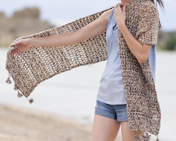 Wanders Crochet Wrap Pattern by Mama In A Stitch
