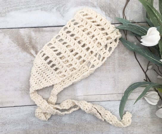 Whimsy Head Wrap Crochet Pattern by Through The Loop YC