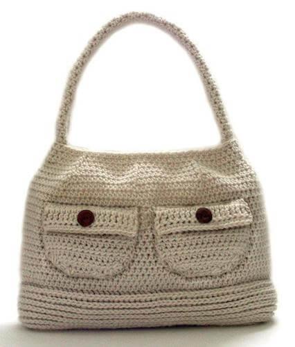 Working Girl Shoulder Bag Crochet Pattern by Crochet Spot Patterns