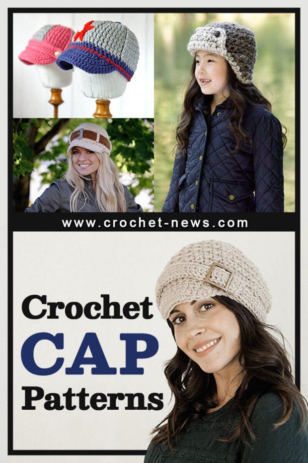 CROCHET CAP PATTERNS