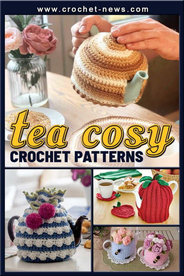 CROCHET TEA COSY PATTERNS
