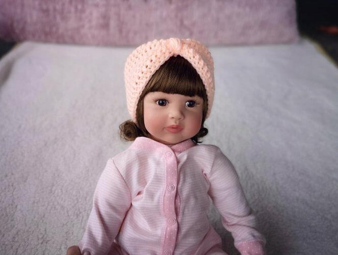 Baby Turban Crochet Pattern from EyeCandyKnitting
