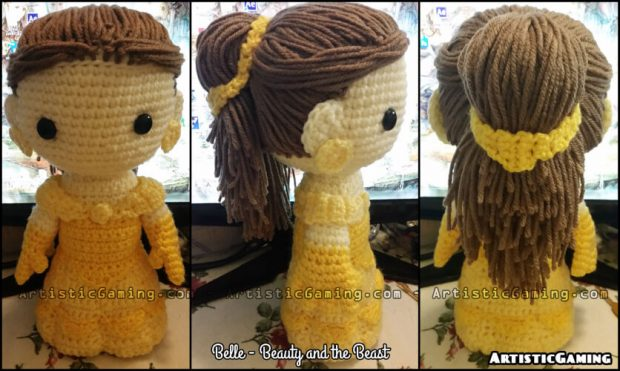 Belle Beauty and the Beast Crochet Pattern from ArtisticGaming
